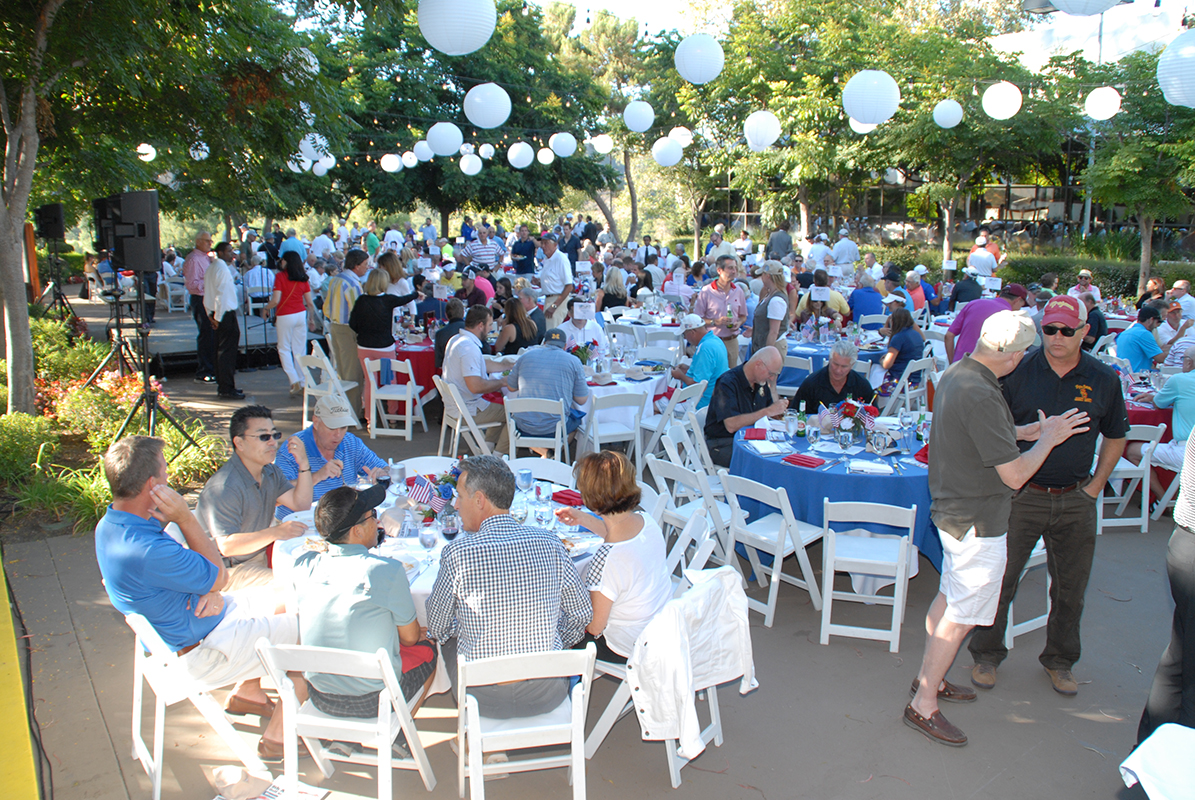 More than 400 guests enjoyed the 2014 MVAT Foundation Golf and Tennis Classic awards dinner.