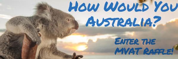 2016 Australia Adventure Raffle